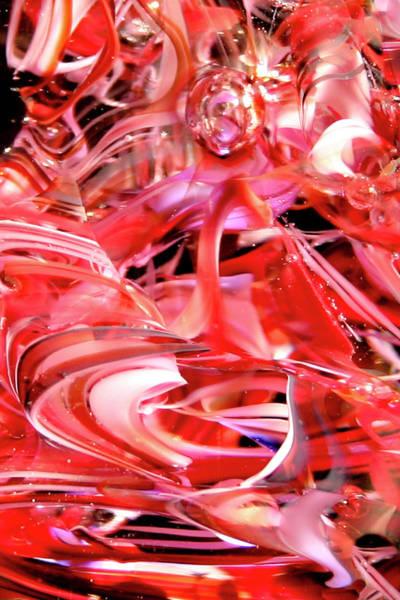 Digital Art - Glass Macro Xx by David Patterson