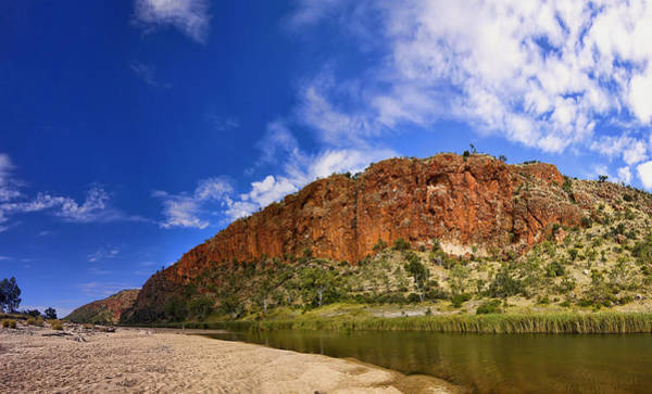 Photograph - Glen Helen Gorge Panorama by Paul Svensen