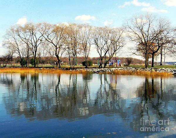 Digital Art - Glen Island Park by Dale   Ford