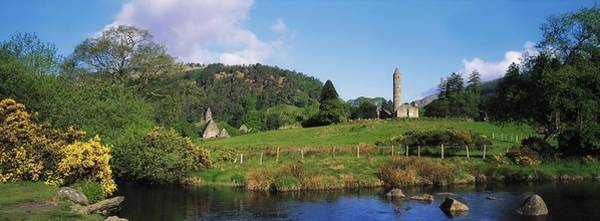 Horizontally Photograph - Glendalough, Co Wicklow, Ireland Saint by The Irish Image Collection