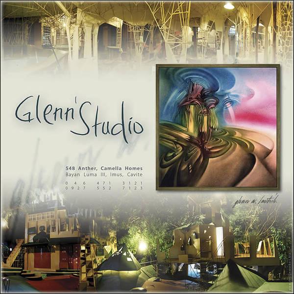 Photograph - Glenn Studio 1992 by Glenn Bautista