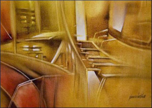 Painting - Glenn'studio 2008 by Glenn Bautista