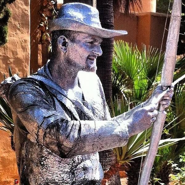Wall Art - Photograph - Glitter Man! Hippy Market In Ibiza by Jo Shaw