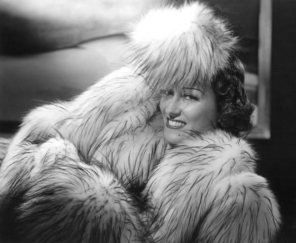 Gloria Swanson Photograph - Gloria Swanson, 1941, Photo By Ernest by Everett