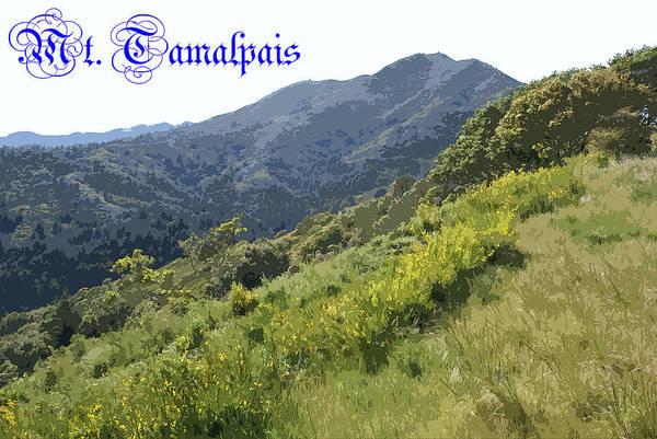 Photograph - Glorious Tamalpais by Ben Upham III