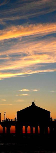 Photograph - Glowing Sunset by Jeff Lowe