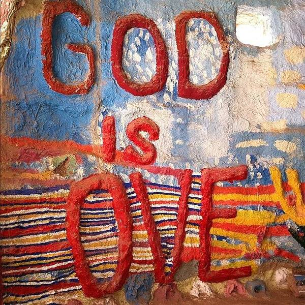 Salvation Wall Art - Photograph - god Is Love #koa #north #glamis by Tyler Rice