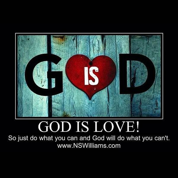 Wall Art - Photograph - God Is Love by Nigel Williams