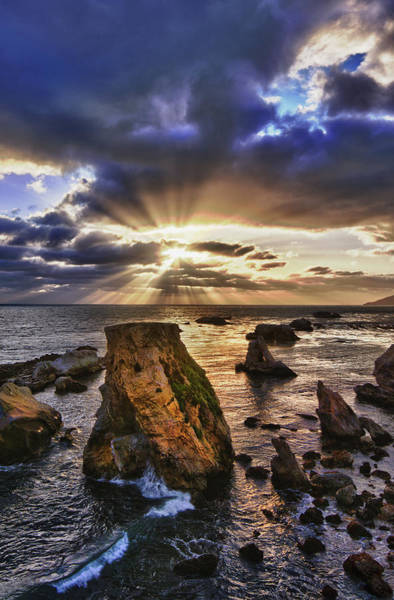 Photograph - God Rays by Beth Sargent