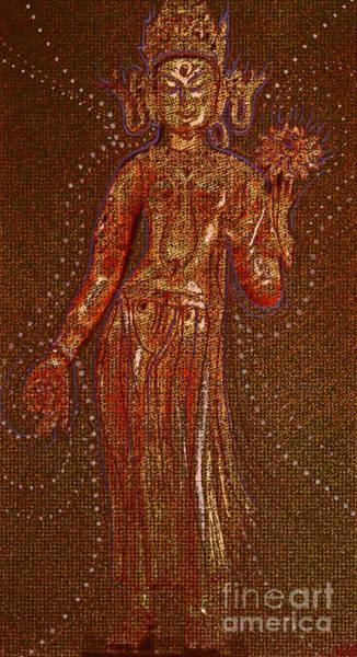 First Star Drawing - Goddess 1 by First Star Art