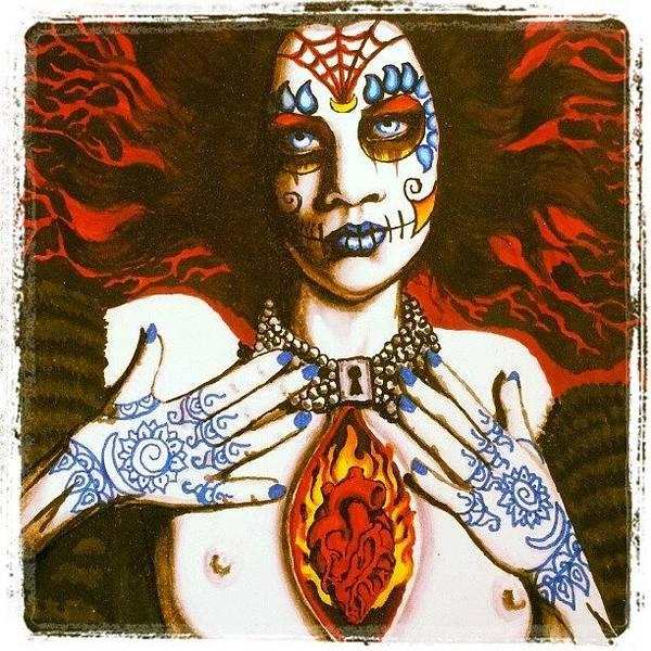 Goddess Of Desire Art Print