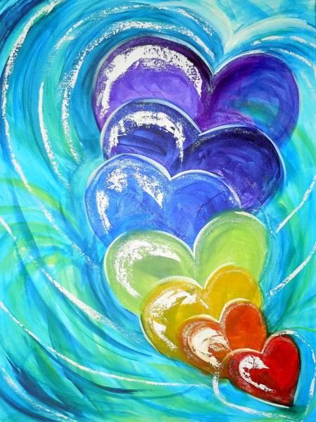 Painting - God's Pure Love by Deborah Brown Maher
