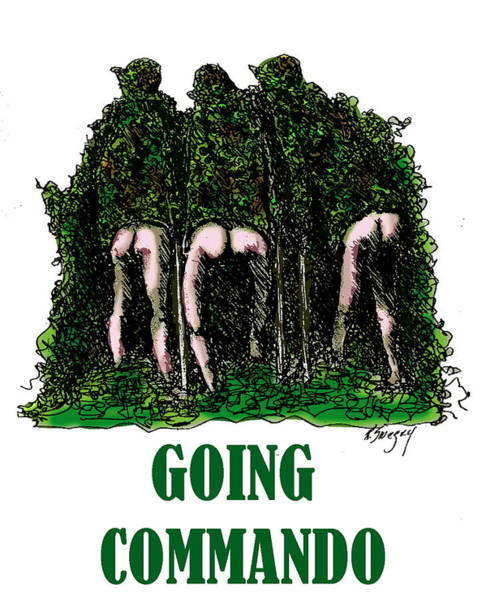 Going Commando Art Print