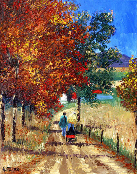 Painting - Going Home by Anthony Falbo