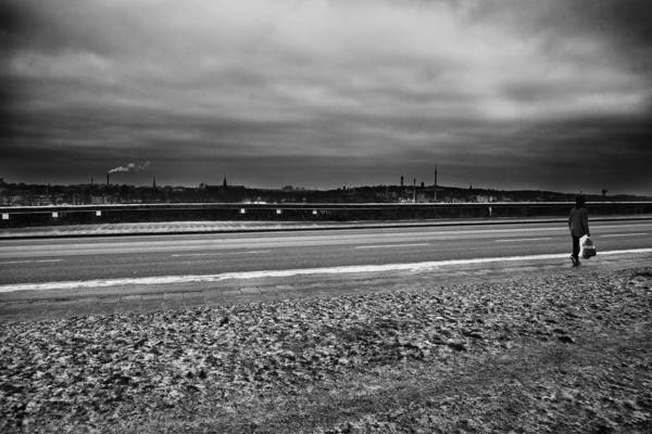 Wall Art - Photograph - Going Home...stockholm by Stelios Kleanthous