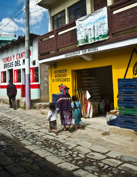 Senora Photograph - Going To The Tienda by Douglas Barnett
