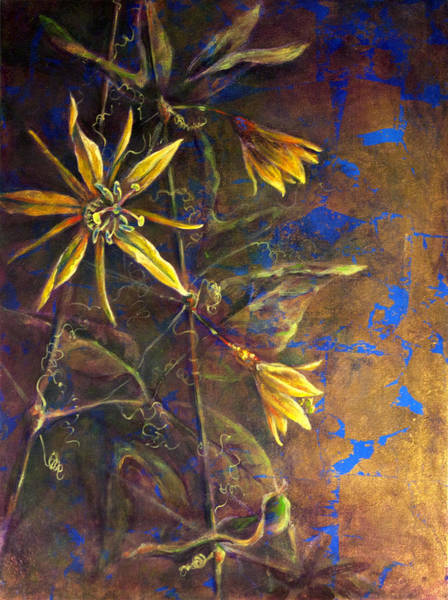 Painting - Gold Passions by Ashley Kujan