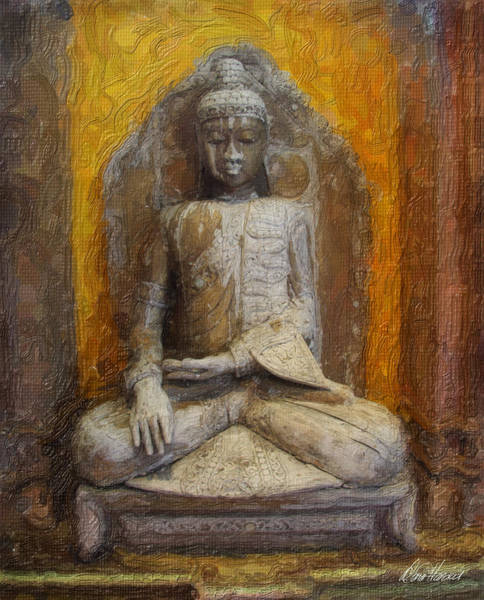 Photograph - Golden Buddha by Diana Haronis