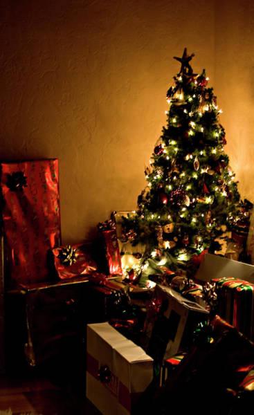 Photograph - Golden Christmas by Lorraine Devon Wilke