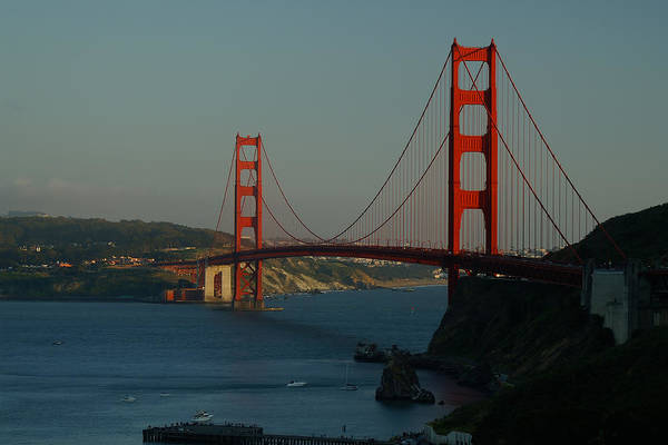 Photograph - Golden Gate At 75 by David Armentrout