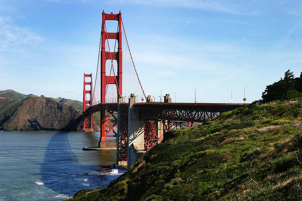 Photograph - Golden Gate Bridge by Anthony Jones