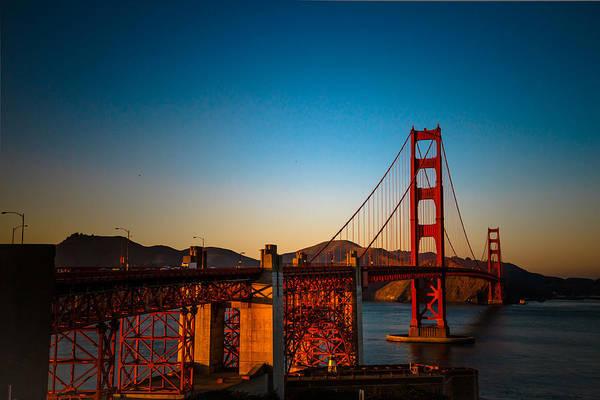 Photograph - Golden Gate Bridge by Ray Shiu