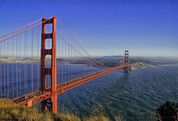 Photograph - Golden Gate Bridge by Tom Singleton