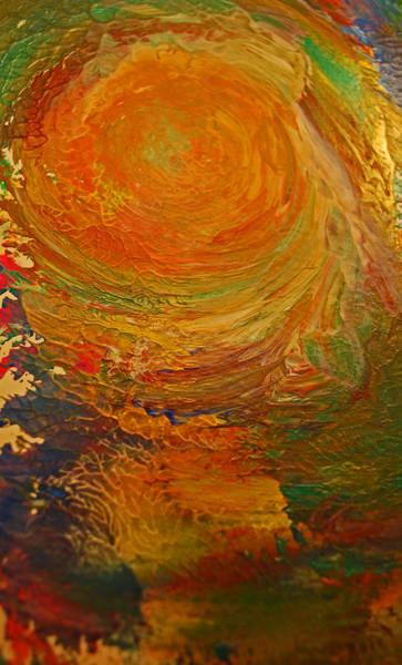 Golden Glow Art Print by Gloria Warren