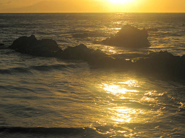 Photograph - Golden Maui Sunset by Marilyn Wilson