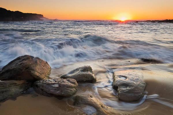Photograph - Golden Sand by Mark Lucey