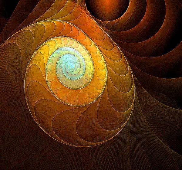 Digital Art - Golden Spiral by Amanda Moore