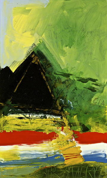 Painting - Golden Triangle by Cliff Spohn