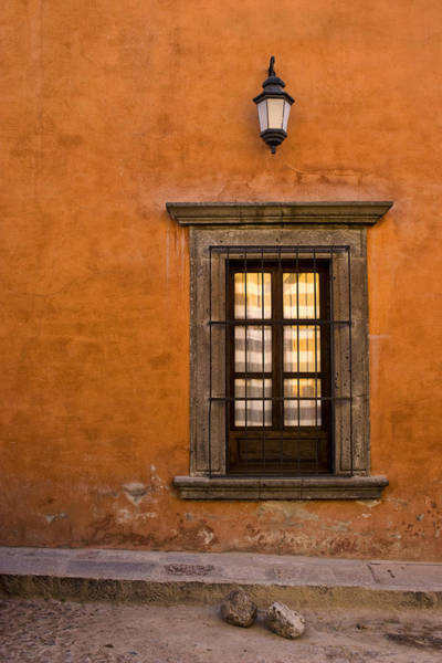 Southwest Photograph - Golden Window Mexico by Carol Leigh