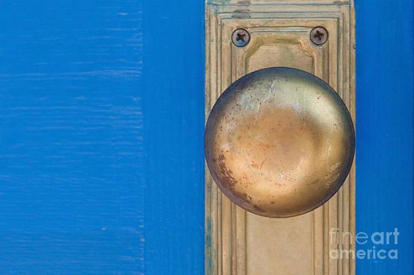 Doorknob Photograph - Goldenknob by Dan Holm