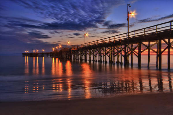 Photograph - Goleta Pier by Beth Sargent