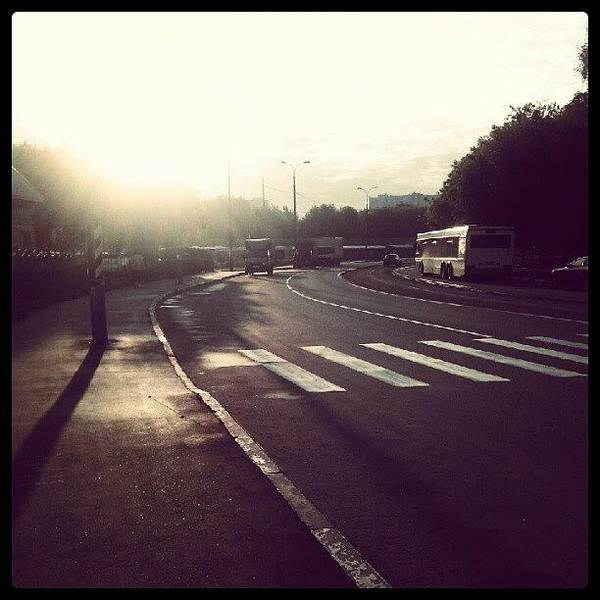Transport Photograph - Good Morning. (: #sunny #weather #day by Orange Fox