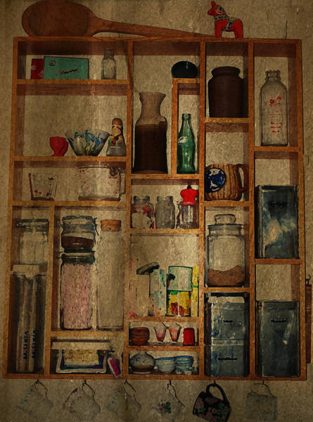 Photograph - Good Old Fashioned Kitchen Charm by Robin Webster