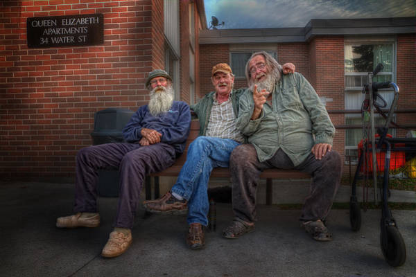 Napanee Photograph - Gossips And Rumour Mongers by John Herzog