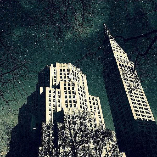 Landmark Wall Art - Photograph - Gotham City Metlife by Natasha Marco