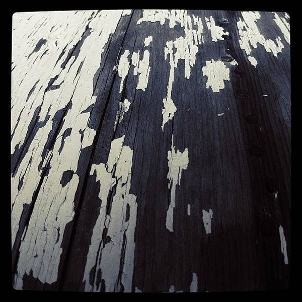 Gotham Wall Art - Photograph - #gotham #macro #old #paint #nails #decay by Snoozy Fistpuncher