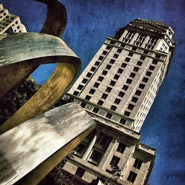 Retro Wall Art - Photograph - Government Center by Joel Lopez