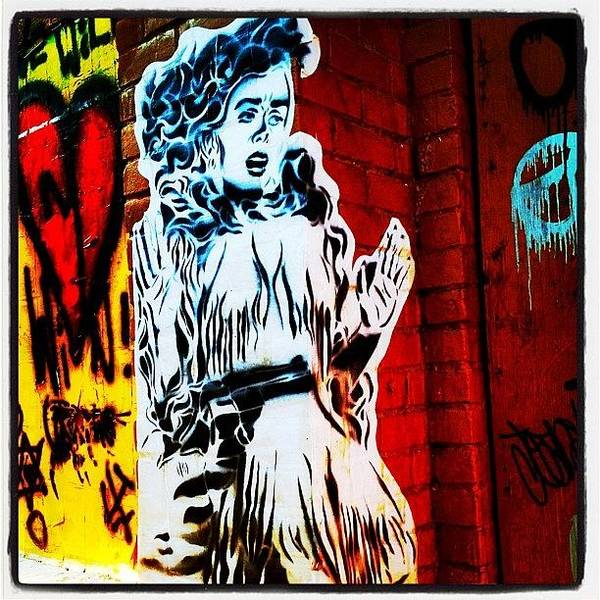 Guns Photograph - #graffiti #phoenix #arizona #streetart by CactusPete AZ