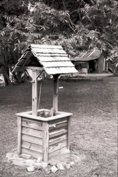 Photograph - Grahamtown Wishing Well by Emery Graham