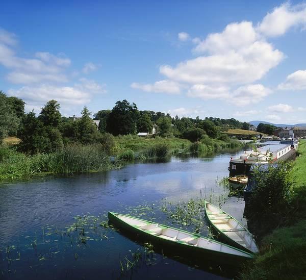 Horizontally Photograph - Graiguenamanagh, River Barrow, Co by The Irish Image Collection