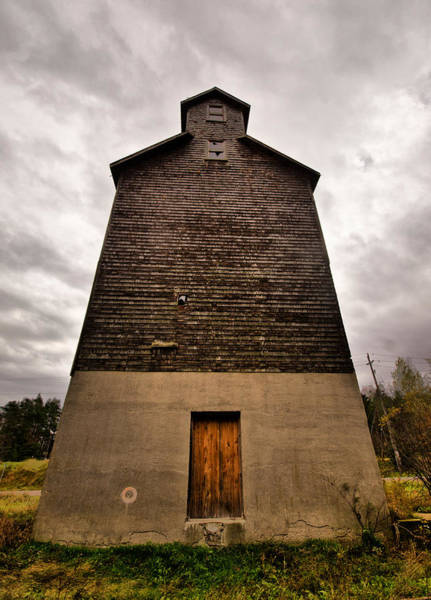 Wall Art - Photograph - Grain Elevator by Cale Best