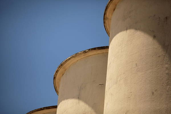 Compartments Photograph - Grain Tower by Jennifer M. Ramos