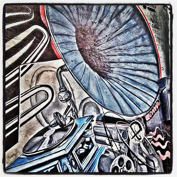 Guns Photograph - #gramophone #turntable #record #pistol by CactusPete AZ