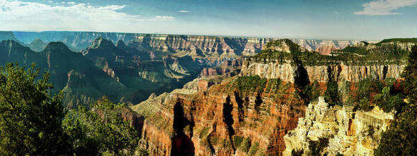 Digital Art - Grand Canyon Angel Panorama by Bob and Nadine Johnston