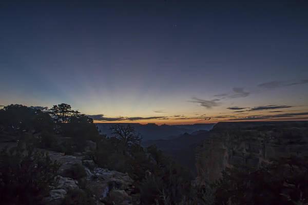 Photograph - Grand Canyon At Dusk by Sven Brogren