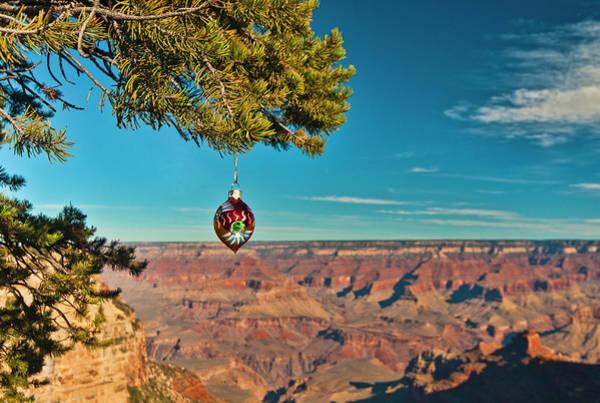Photograph - Grand Canyon Ornament by Lou  Novick